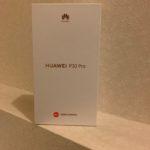 【レビュー】Huawei P30 Pro(香港製)